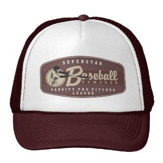 野球のhomerun トラッカー帽子