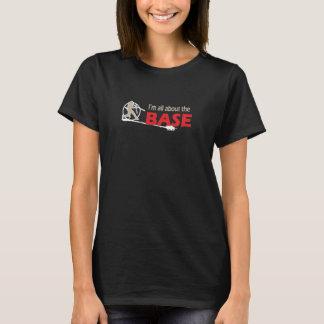 野球のTシャツ-私は基盤について完全にあります Tシャツ