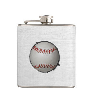 野球はスポーツのテーマを埋め込みます フラスク