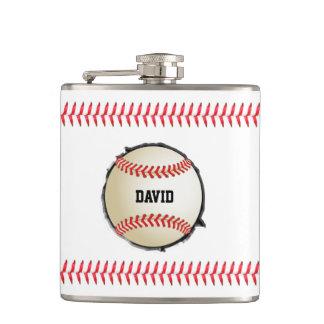 野球は名前をカスタムするのスポーツを埋め込みます フラスク