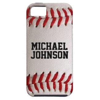 野球は名前入りな名前の質を遊ばします iPhone SE/5/5s ケース