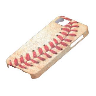 野球は箱をステッチします iPhone SE/5/5s ケース