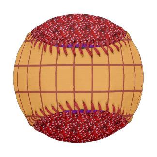 野球は金ゴールドの金赤いフルーツの種をからかいます ベースボール