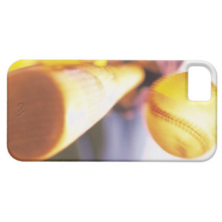 野球を連絡するこうもり iPhone SE/5/5s ケース