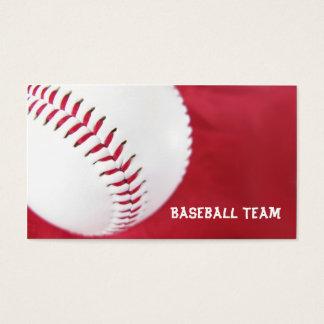 野球チームの名刺 名刺