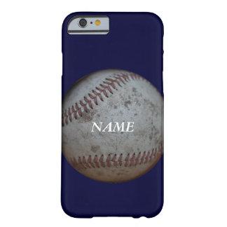 野球ファンおよび名前 BARELY THERE iPhone 6 ケース