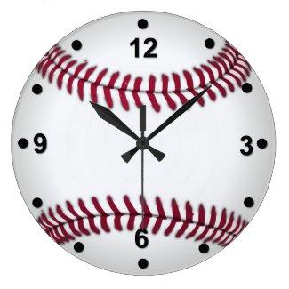野球ファンの柱時計