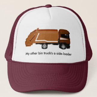 野球帽、茶色の大箱のトラック キャップ