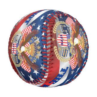 野球愛国者のwwithの文字のイメージ 野球ボール