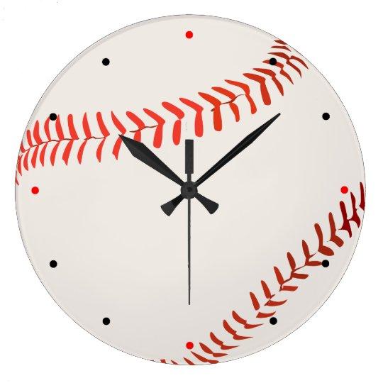 野球用ボール ラージ壁時計
