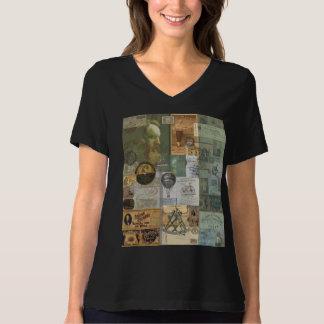 野球航空8 Bellaによってリラックスされる適合、Tシャツ Tシャツ
