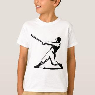 野球衝突 Tシャツ