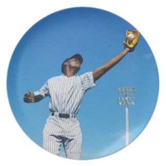 野球選手(16-20)の伝染性の球 プレート