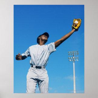 野球選手(16-20)の伝染性の球 ポスター