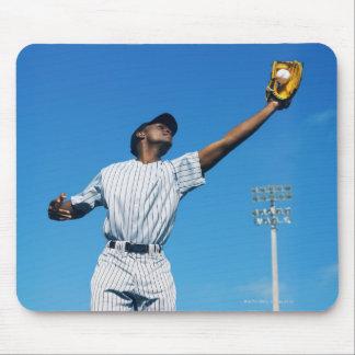 野球選手(16-20)の伝染性の球 マウスパッド