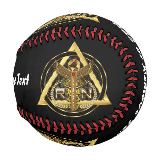 野球1人の医学のロゴのナース 野球ボール