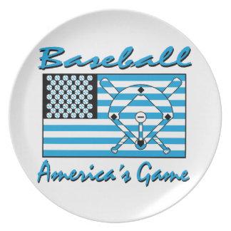 野球、アメリカのゲーム プレート