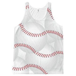 野球 オールオーバープリントタンクトップ