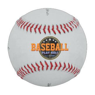 野球。 名前入りなゲーム・ボール ベースボール