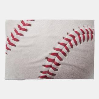 野球-野球の背景のテンプレートをカスタマイズ キッチンタオル