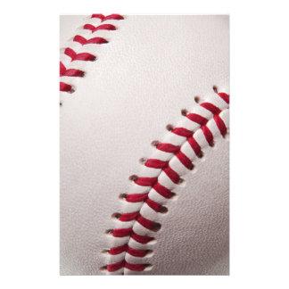 野球-野球の背景のテンプレートをカスタマイズ 便箋
