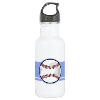 野球; 青い ウォーターボトル