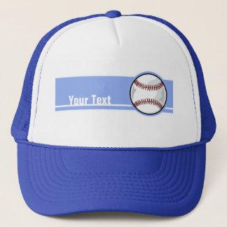 野球; 青い キャップ