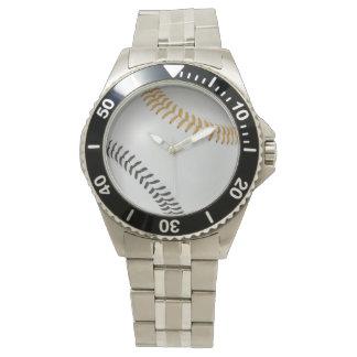 野球Fan-tastic_Color Laces_go_bk 腕時計
