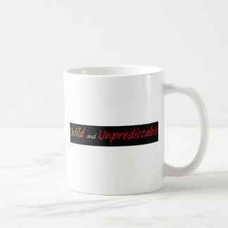野生および予測不可能 コーヒーマグカップ