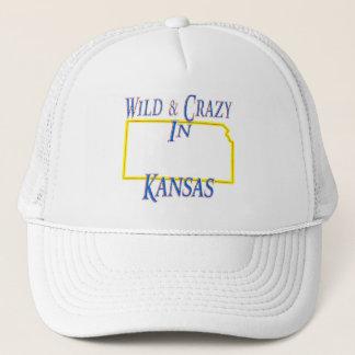野生および熱狂するなカンザス- キャップ