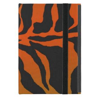 野生および熱狂するなトラは縞で飾ります iPad MINI ケース
