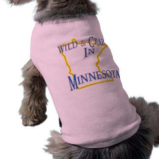 野生および熱狂するなミネソタ- ペット服