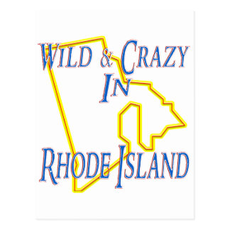 野生および熱狂するなロードアイランド- ポストカード