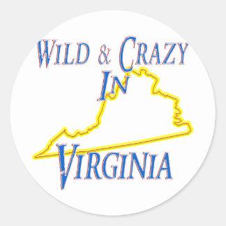 野生および熱狂するなヴァージニア- ラウンドシール