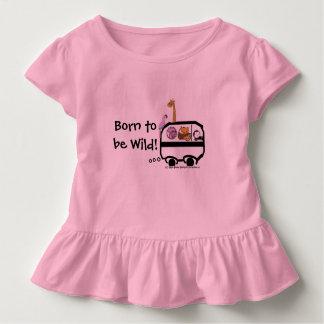 野生があるために生まれて下さい トドラーTシャツ