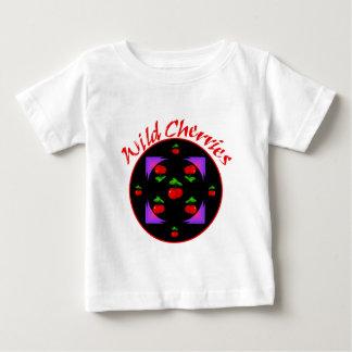 野生さくらんぼのTシャツ ベビーTシャツ