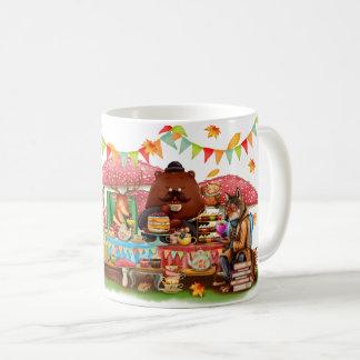 野生のお茶会のマグ コーヒーマグカップ
