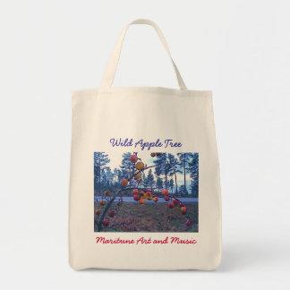 野生のりんごの木 トートバッグ