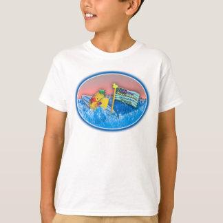 野生のアヒルちゃん水公園2009年(印刷される子供) Tシャツ