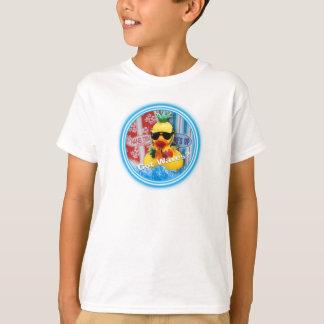 野生のアヒルちゃん水公園2009年(選別される子供) Tシャツ