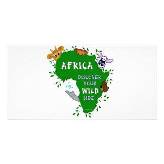 野生のアフリカ カード