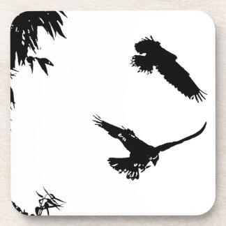 野生のアマゾンオウムの鳥動物の野性生物 コースター