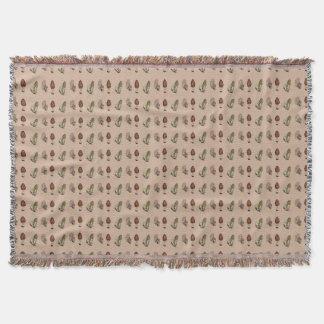 野生のアミガサタケのきのこの狩り 毛布