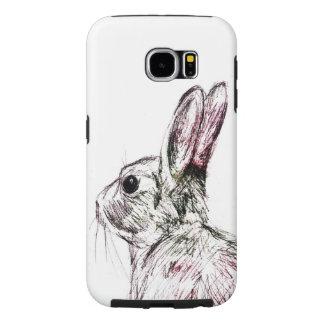 野生のウサギのSamsungの銀河系S6の箱 Samsung Galaxy S6 ケース