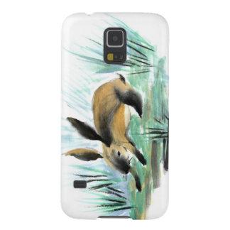 野生のウサギ、Sumi-e Galaxy S5 ケース