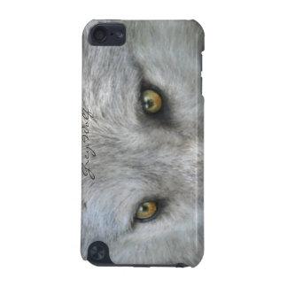 野生のオオカミは野性生物恋人のIPodの箱を注目します iPod Touch 5G ケース