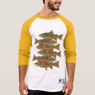 野生のカワマス Tシャツ