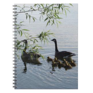 野生のガチョウのノート ノートブック
