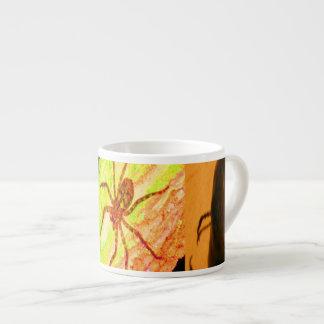 野生のコスタリカ-くも、ゴキブリおよび昆虫 エスプレッソカップ