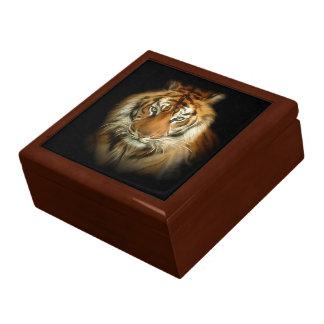 野生のトラの装身具箱 ギフトボックス